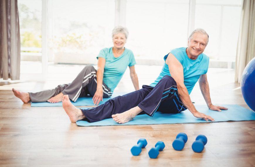 fitness for seniors concept