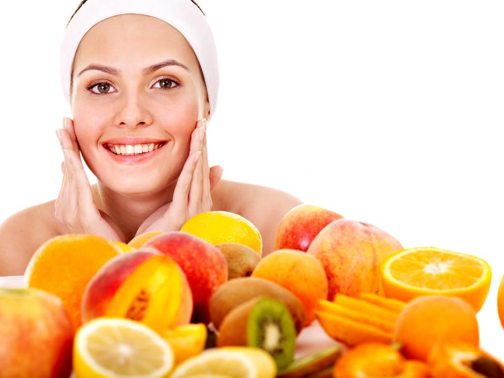 Natural homemade fruit facial masks