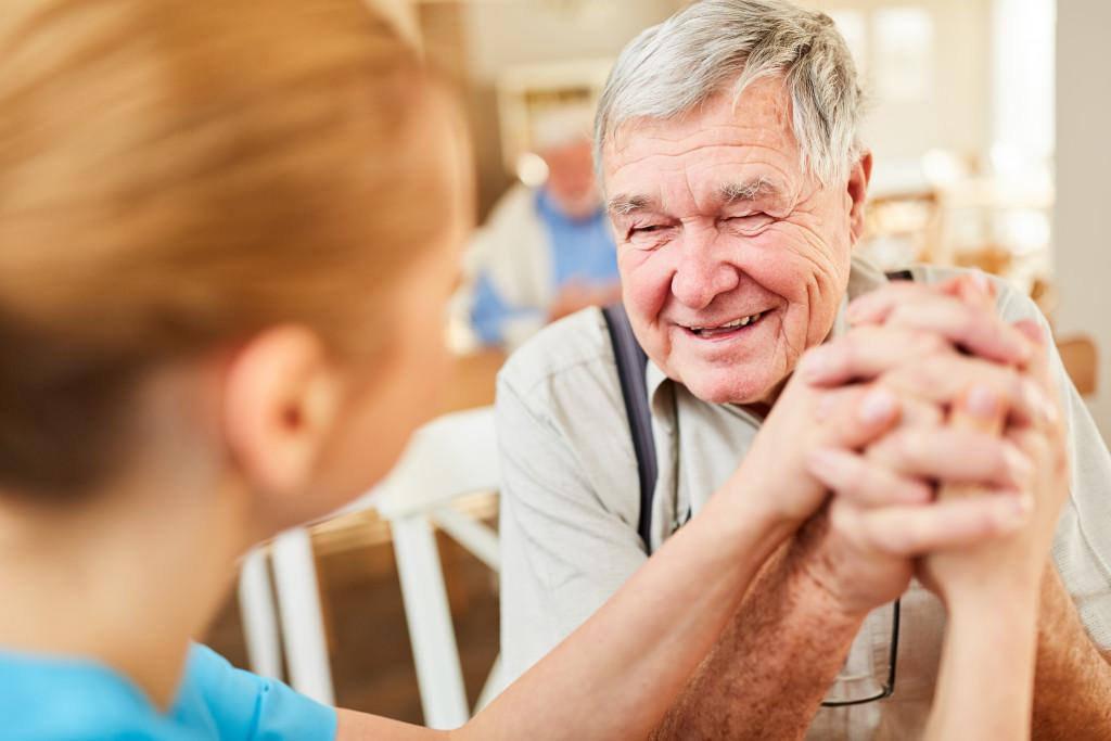 taking care of seniors